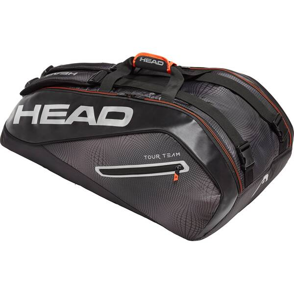 HEAD Tasche Tour Team 9R Supercombi Schwarz