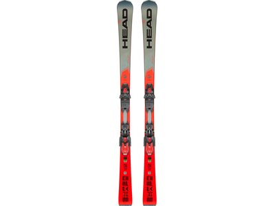 HEAD Herren All-Mountain Ski Supershape i.Rally SW + PRD 12 GW Grau