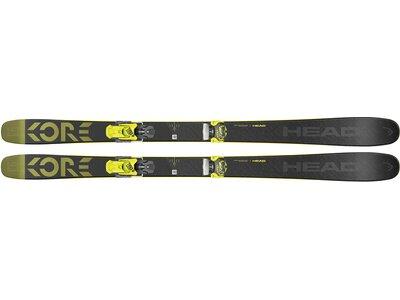 HEAD Herren Freeride Ski Kore 93 + Attack Schwarz