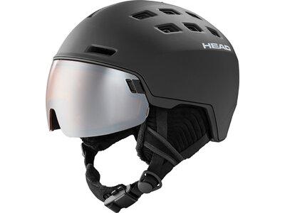 HEAD Herren Helm RADAR black + SL Schwarz