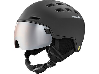 HEAD Herren Helm RADAR MIPS black Grau