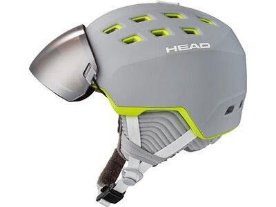HEAD Damen Helm RACHEL grey/lime Grau