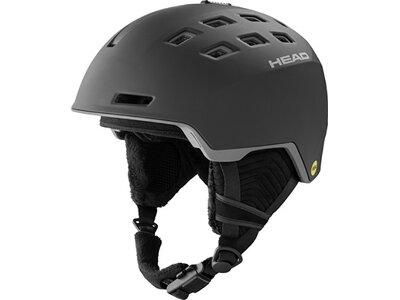 HEAD Herren Helm REV MIPS black Schwarz