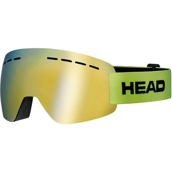 HEAD Skibrille SOLAR FMR lime