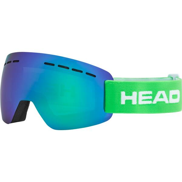 HEAD Skibrille SOLAR FMR green
