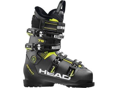 HEAD Skischuhe ADVANT EDGE 75 ANTH / BLACK - YELLO Schwarz
