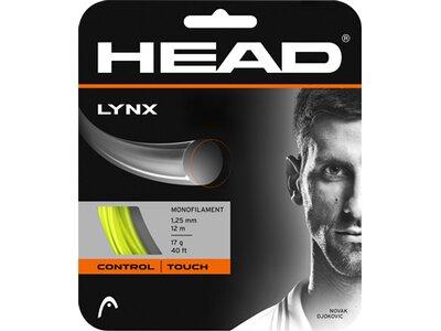 HEAD Tennis-Saite Lynx 1,25mm Set Gelb