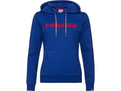 HEAD Damen Hoodie CLUB ROSIE Hoodie W Blau