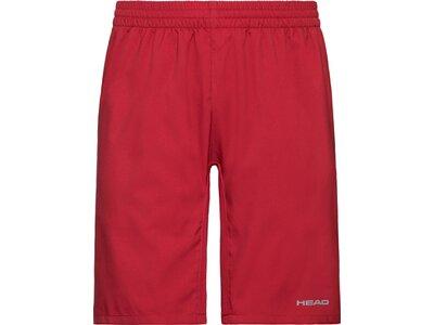 HEAD Kinder Bermuda-Shorts CLUB Bermudas B Rot