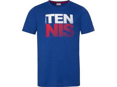 HEAD Kinder T-Shirt CLUB CHRIS T-Shirt JR Blau