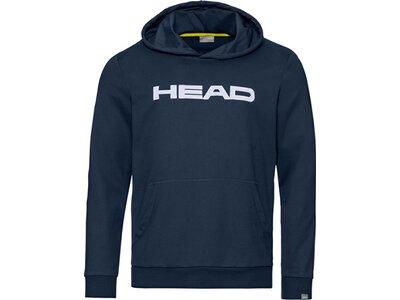 HEAD Kinder Hoodie CLUB BYRON Hoodie JR Schwarz