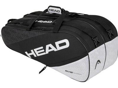 "HEAD Tennistasche ""Elite 9R Supecombi"" Grau"