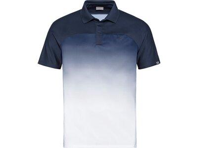 HEAD Herren Poloshirt PERF Polo Shirt M Blau