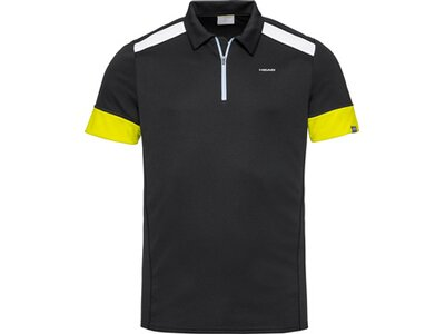 HEAD Herren Poloshirt GOLDEN SLAM Polo Shirt M Schwarz