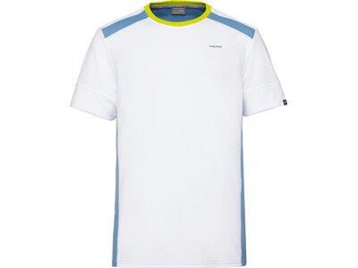 HEAD Herren T-Shirt UNI T-Shirt M Weiß