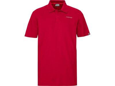 HEAD Herren Poloshirt CLUB BJÖRN Polo Shirt M Rot