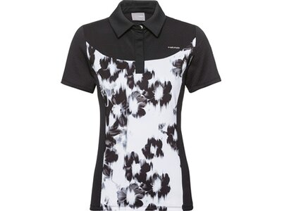 HEAD Damen Poloshirt PERF Polo Shirt W Schwarz