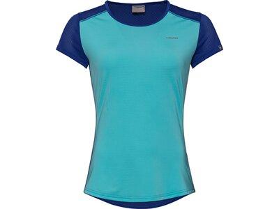 HEAD Damen T-Shirt SAMMY Blau