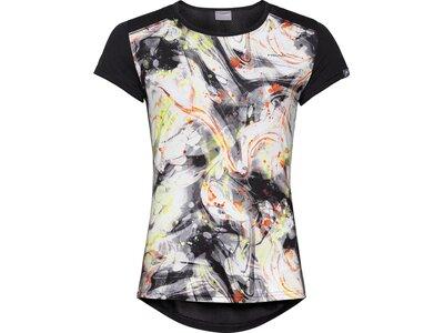 HEAD Damen T-Shirt SAMMY Schwarz