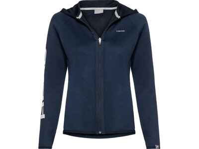 HEAD Damen Jacke ACTION Blau