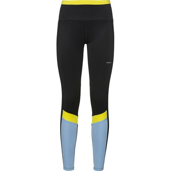 Hosen - HEAD Damen Tights POWER Tights W › Grün  - Onlineshop Intersport