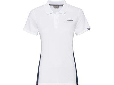 HEAD Damen Poloshirt CLUB Tech Polo Shirt W Pink