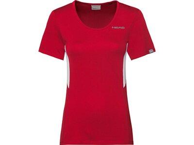 HEAD Damen T-Shirt CLUB Tech T-Shirt W Rot