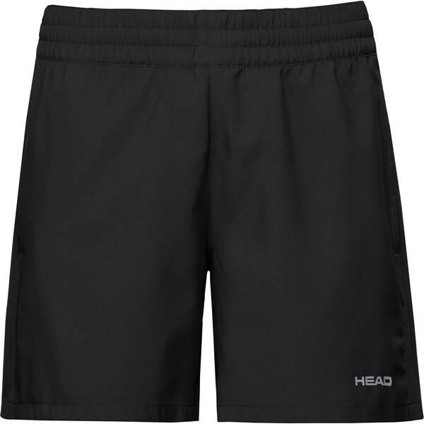 Hosen - HEAD Damen Shorts CLUB Shorts W › Schwarz  - Onlineshop Intersport