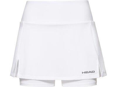 HEAD Damen Skort CLUB Basic Skort W Weiß