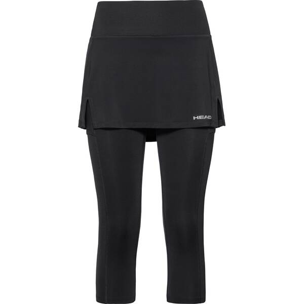 HEAD Damen Skort CLUB 3/4 Tights Skort W