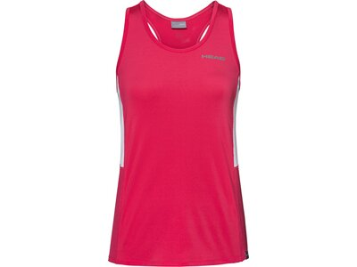 HEAD Damen T-Shirt CLUB Tank Top W Rot