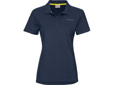 HEAD Damen Poloshirt CLUB MARY Polo Shirt W Blau