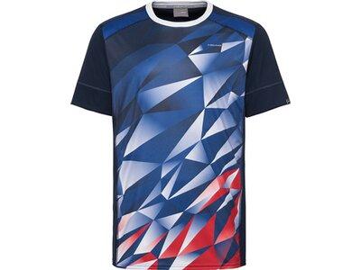 HEAD Kinder T-Shirt MEDLEY T-Shirt B Blau