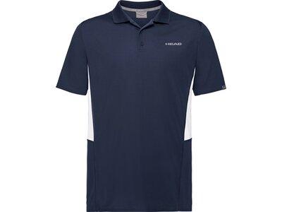 HEAD Kinder Poloshirt CLUB Tech Polo Shirt B Schwarz