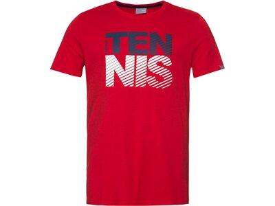 HEAD Kinder T-Shirt CLUB CHRIS T-Shirt JR Rot