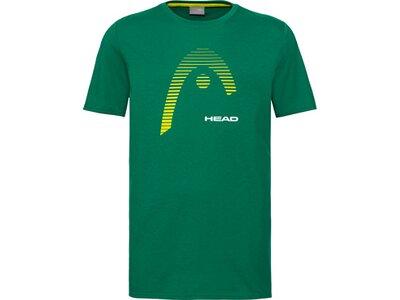 HEAD Kinder T-Shirt CLUB CARL T-Shirt JR Grün
