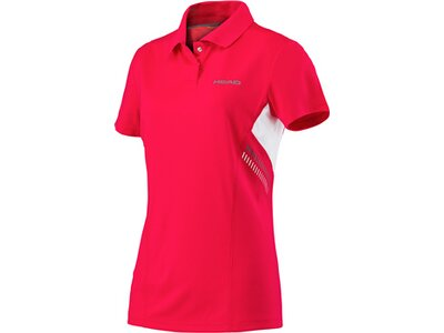HEAD Damen Polo CLUB TECHNICAL Rot