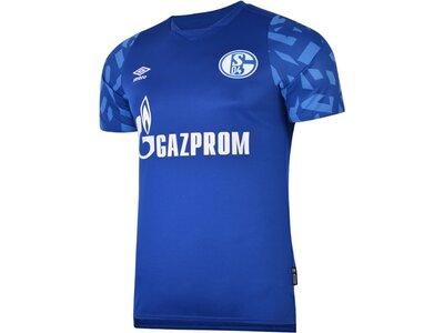 UMBRO Herren Trikot FC SCHALKE 04 19/20 HOME JERSEY Blau