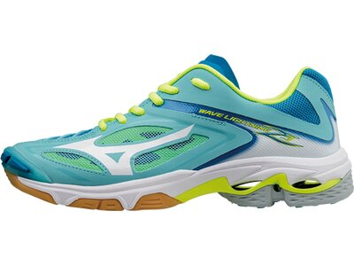 MIZUNO Damen Volleyballschuhe WAVE Lightning Z3 Blau