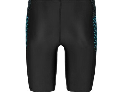 SPEEDO Herren Badebermuda TECH PANEL JAM AM BLK/BLUE Schwarz