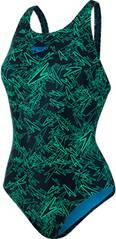 SPEEDO Damen Badeanzug BOOM ALOV MSBK AF BLACK/GREEN