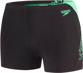 SPEEDO Herren Aquashorts BOOM SPL ASHT AM BLACK/GREEN