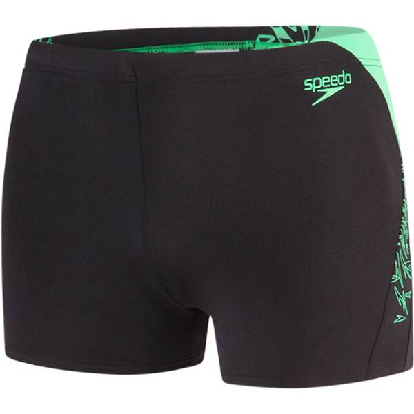 SPEEDO Herren Aquashorts BOOM SPL ASHT AM BLACK/GREEN