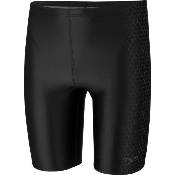 SPEEDO Herren Badebermuda PLACEMENT JAMMER AM BLACK/GREY