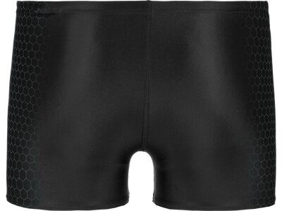 SPEEDO Badehose PLMT AQUASHORT AM BLK/GREY Schwarz