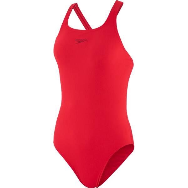 SPEEDO Damen Badeanzug ESSENTIAL END+ MEDALIST AF RED