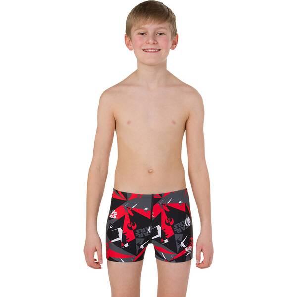 SPEEDO Kinder Badeanzug ALV ASHT JM BLACK/GREY