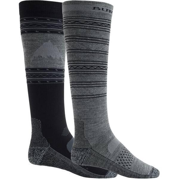 BURTON Herren Snowboardsocken Performance Lightweight Sock 2 Pack