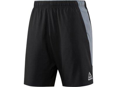 REEBOK Herren Shorts Workout Grau