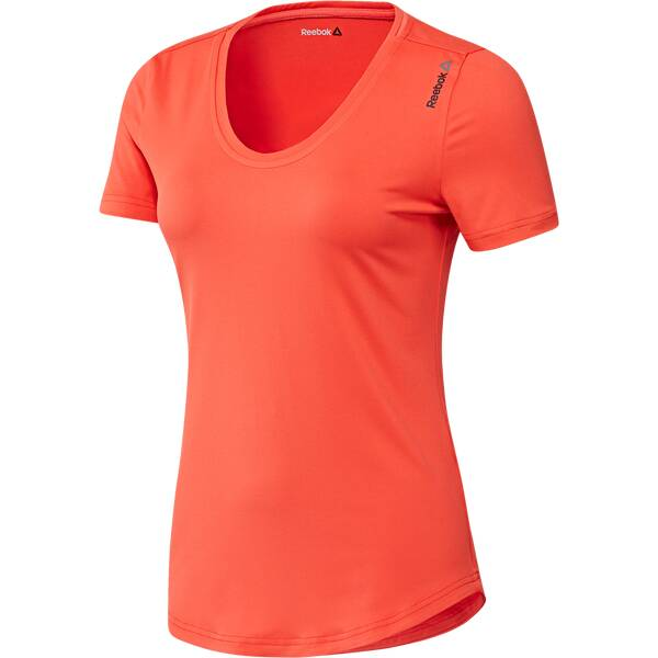 REEBOK Damen Shirt Work Out Ready Speedwick Tee Rot
